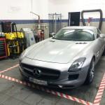 Aluminium naprawa  Mercedes