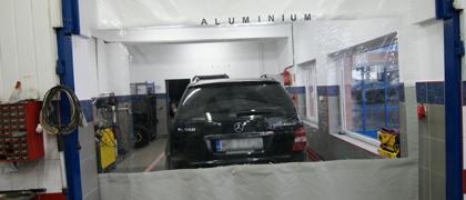 Naprawa nadwozi aluminium