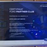 Certyfikat Ford