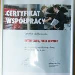 Certyfikat Wurth